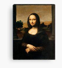 Mona Lisa - The Isleworth -Top Resolution Canvas Print