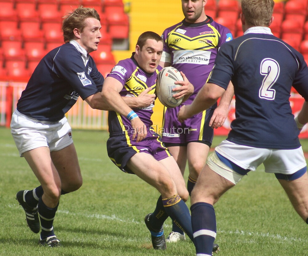 Gateshead Thunder 2008 - Stu Kain by Paul Clayton