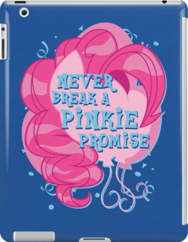 Never Break A Pinkie Promise by Gilles Bone