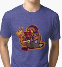 Charmander plays LSDJ Tri-blend T-Shirt