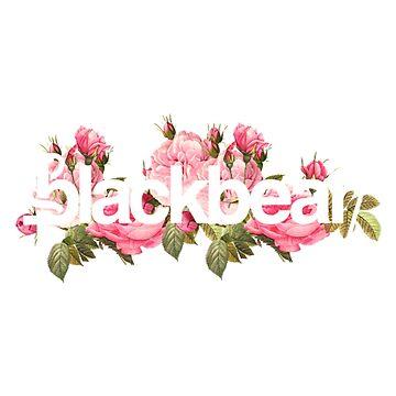 Blackbear Pinkness Rose Design by emathechickenlo