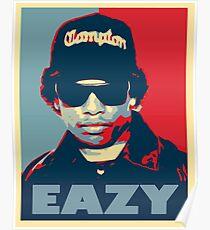 Eazy e Obama Hope Style Poster