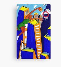 Skyscraper Dunk Canvas Print