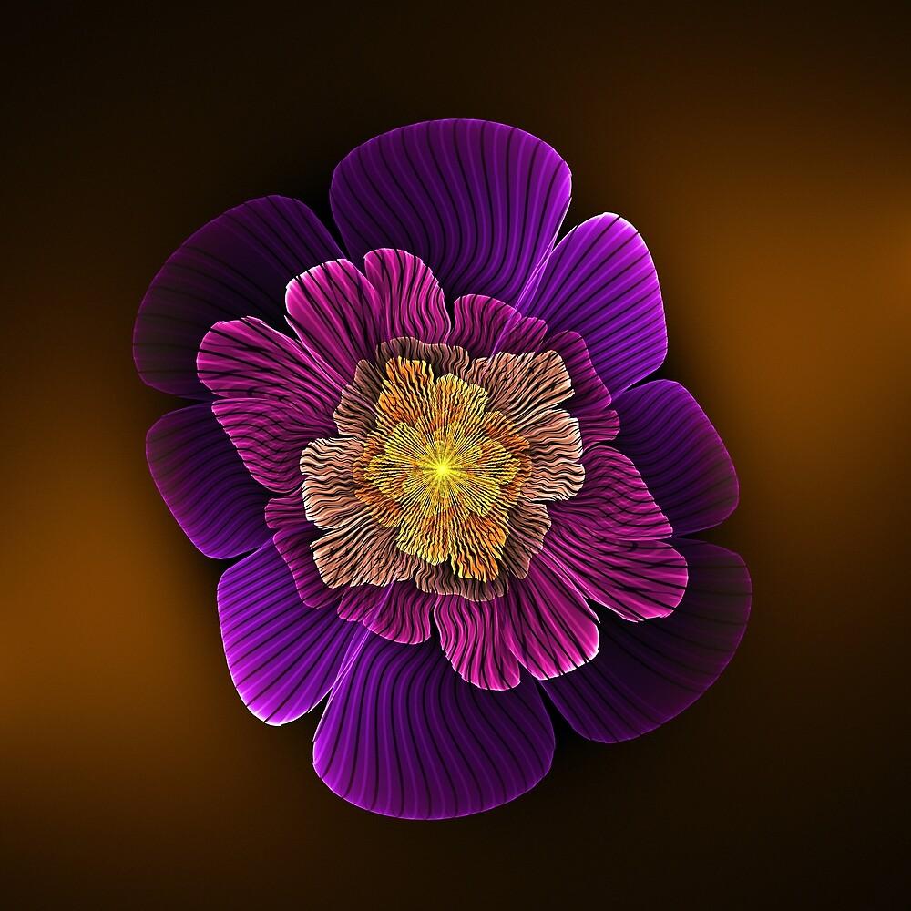 Wavy Apo Flower by Pam Blackstone