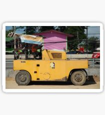 Chiang Mai: Resting Road Roller Sticker