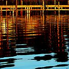 Reflections on The Dock on The Bay by JKKimball