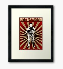 Rocketman, Kim Jong Un Framed Print