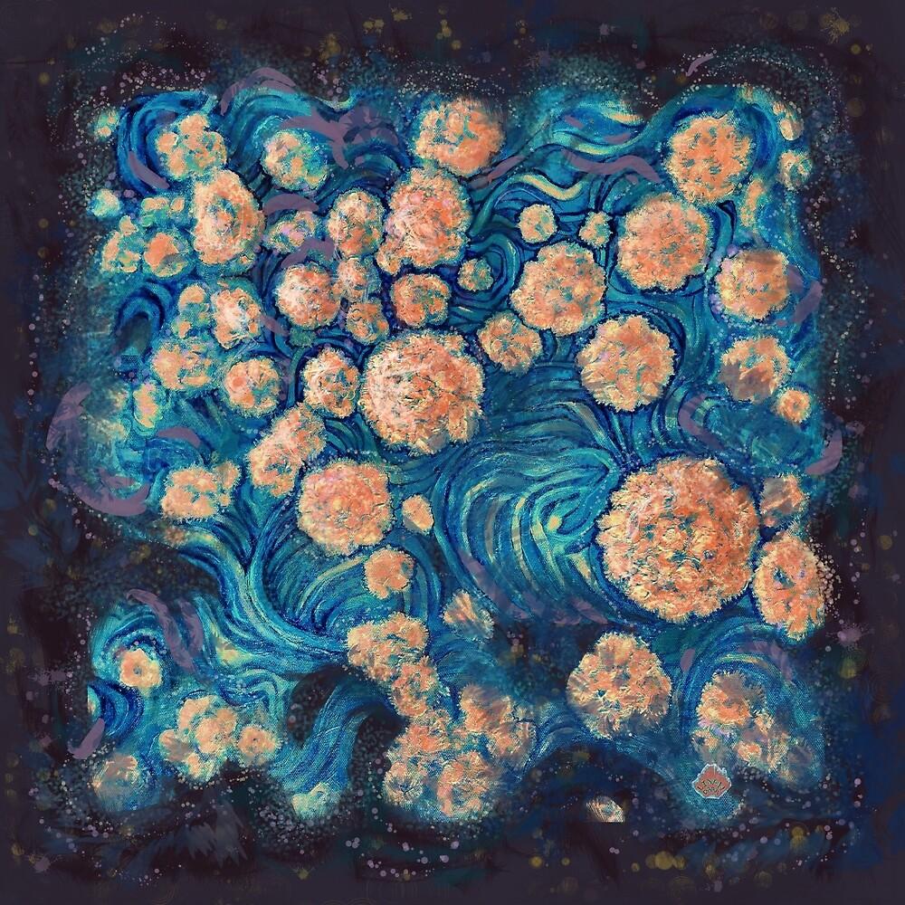 Mimosa Nebula by Alexandra Cook aka Linandara  by Linandara