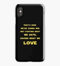 Star Wars Last Jedi Best Lines iPhone Case/Skin