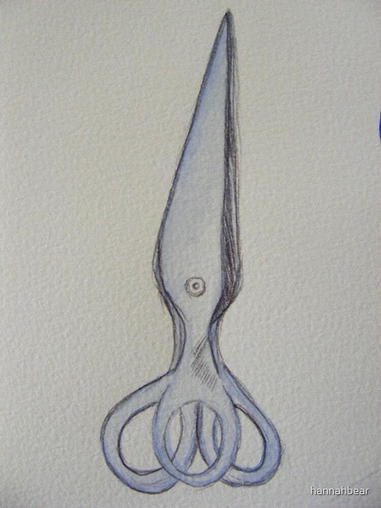 scissors by hannahbear