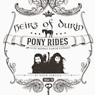 Heirs of Durin Pony Rides by Avia Asner