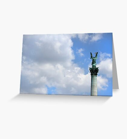 Heroes Square Greeting Card
