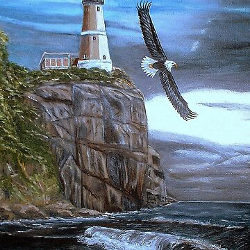Lighthouse Eagle by KensArt2