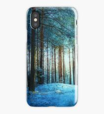 A moment in blue iPhone Case/Skin
