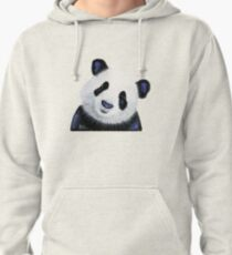 Panda PRiNT ' HuGSY ' by Shirley MacArthur Pullover Hoodie