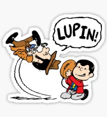 Lupin Peanuts Sticker