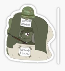 1AP USMC Camp YutMurderkill Sticker