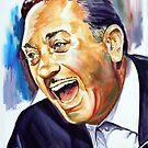 Giorgos Zambetas painting portrait by Star Portraits Soutsos Art