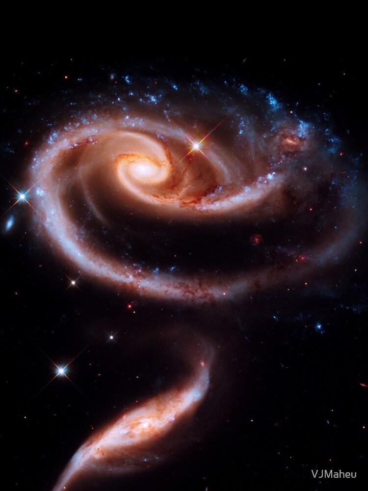 Eine Rose aus Galaxien von VJMaheu