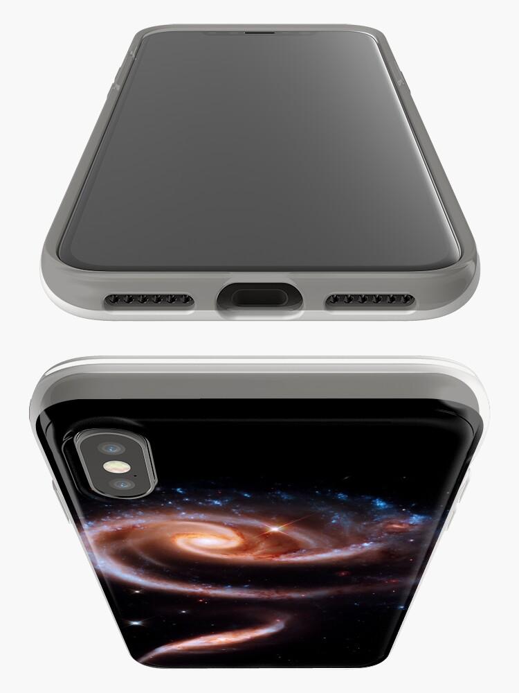 Alternative Ansicht von Eine Rose aus Galaxien iPhone-Hülle & Cover