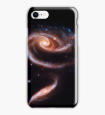 A Rose Made Of Galaxies iPhone Case/Skin