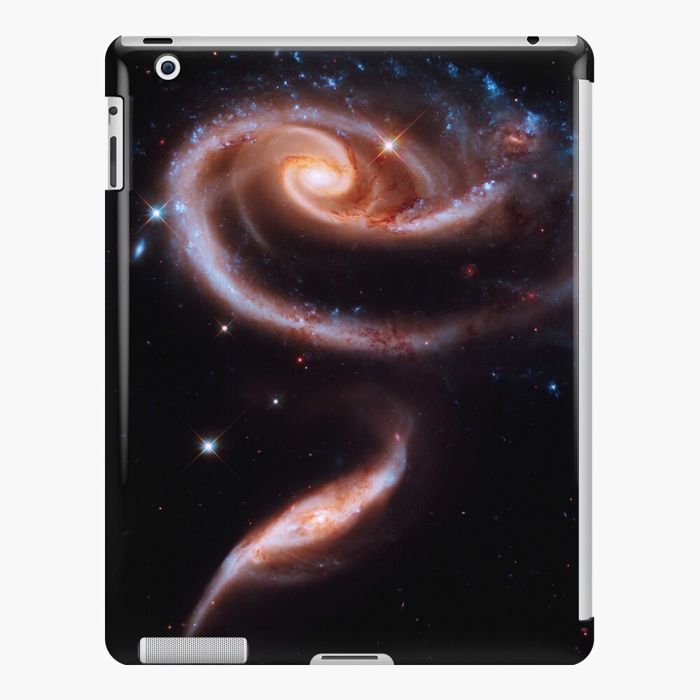Eine Rose aus Galaxien iPad-Hülle & Skin