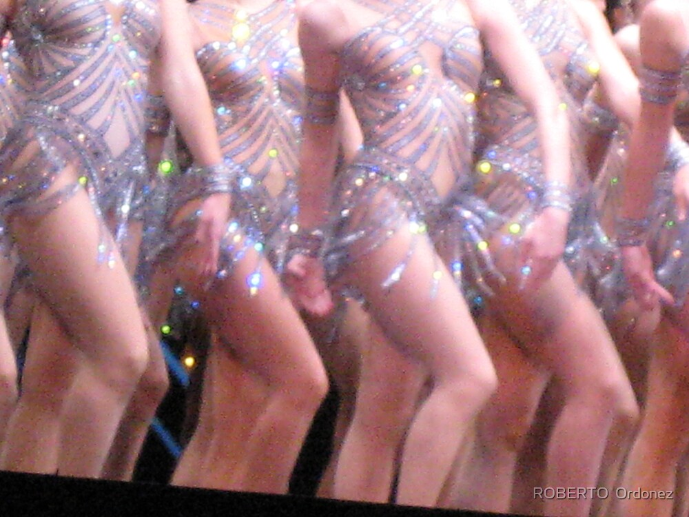The Rockettes 3 by Robert Ordonez
