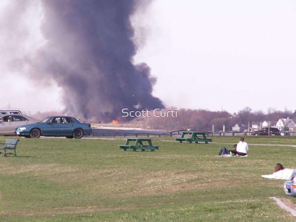 fire at Colt State by Scott Curti