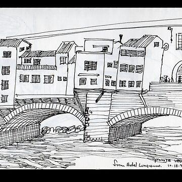 ITALY- Ponte Vecchio, Firenze by JamesLHamilton
