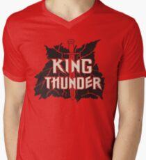 King Thunder Glitter Rock Band (Quantum Leap) Men's V-Neck T-Shirt
