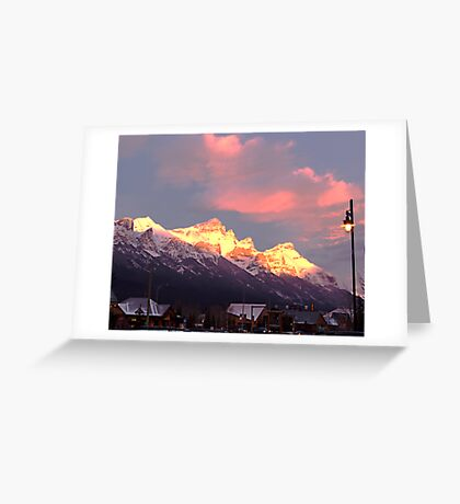 Dawn's Early Light Greeting Card