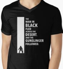 The Dark Tower - Desert white Men's V-Neck T-Shirt