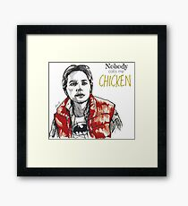 Chicken! Framed Print