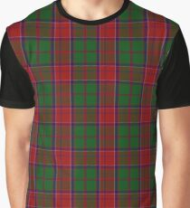 Grant and Drummond Clan/Family Tartan  Graphic T-Shirt