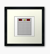 Minesweeper / Buscaminas Framed Print