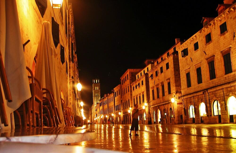 Dubrovnik by night by mypics4u