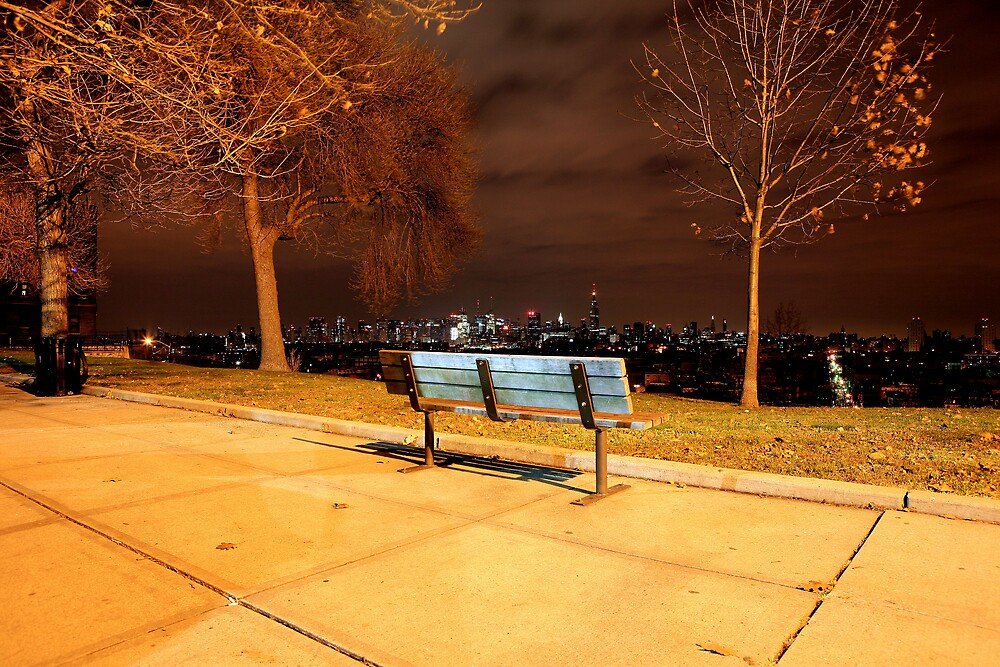 Bench with a view by pmarella