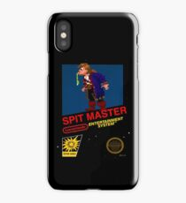 Spit Master - Lucastendo Entertainment System iPhone Case/Skin