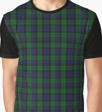 Grant Hunting or Black Watch Military Tartan  Graphic T-Shirt