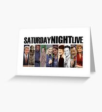 Saturday Night Live Greeting Card