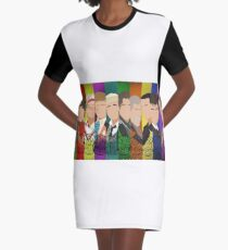 The 13 Doctors Graphic T-Shirt Dress
