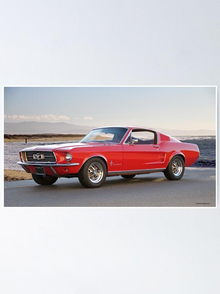 1967 Mustang Fastback >> 1967 Mustang Fastback Ii Poster