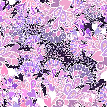 Beautiful floral decorative pattern. by Polanika