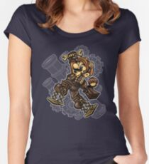 Super Punk Bros Women's Fitted Scoop T-Shirt