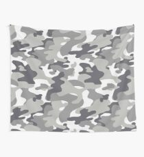 Urban Camouflage Pattern Wall Tapestry
