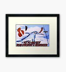 Yo Yo Ma Reindeer Framed Print