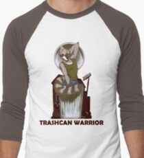 Trashcan Warrior Men's Baseball ¾ T-Shirt