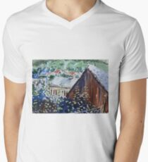 Rural Europe Men's V-Neck T-Shirt