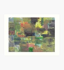 GREEN PREVAILS(C2012) Art Print