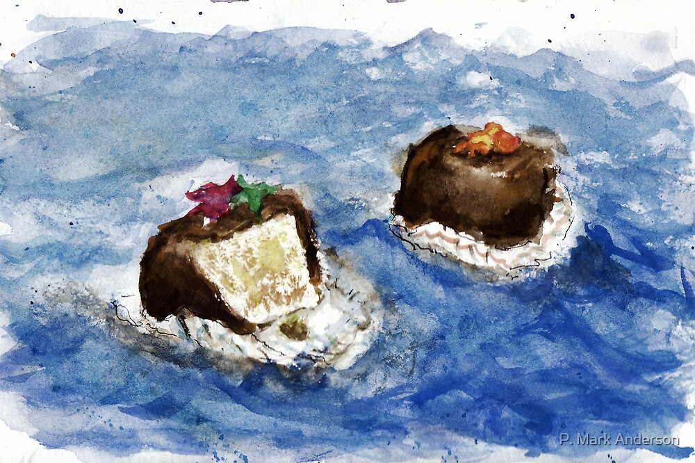 Deux Grands Petits Fours by P. Mark Anderson